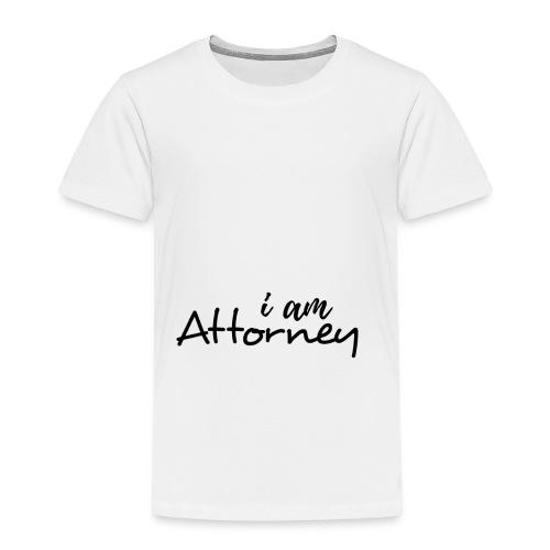 I am Attorney - Kids' Premium T-Shirt