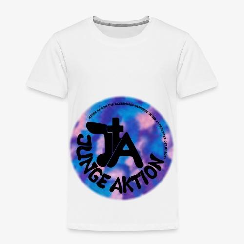 LLENA blau schwarz - Kinder Premium T-Shirt