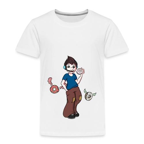 Donut Boy - Kinder Premium T-Shirt
