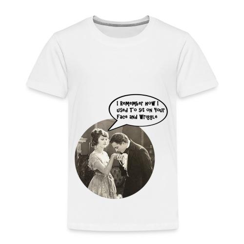 Volume2 - I Remember How I Used to Sit... - Kinder Premium T-Shirt