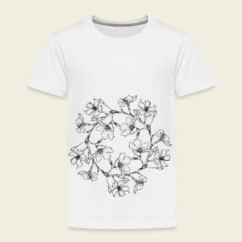 Blütenkreis - Kinder Premium T-Shirt