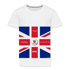Royal Wedding 2018 - Kids' Premium T-Shirt