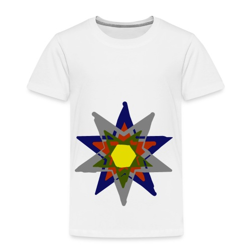 Bunte Sonne - Kinder Premium T-Shirt