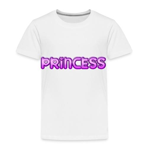 Prinzessin süß niedlich Geschenk Geschenkidee Herz - Kinder Premium T-Shirt