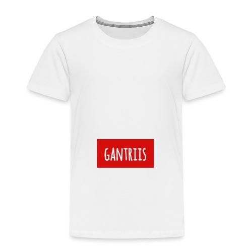 Klassisk med Navn - Børne premium T-shirt