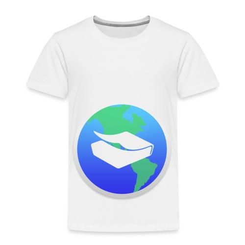 kaeru world icon - Kids' Premium T-Shirt