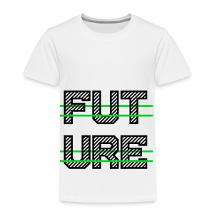Future Clothing - Green Strips (Black Text) - Kids' Premium T-Shirt