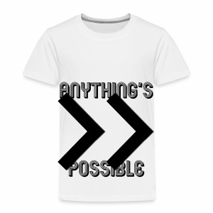 Future Clothing - Anything's Possible (Black) - Kids' Premium T-Shirt