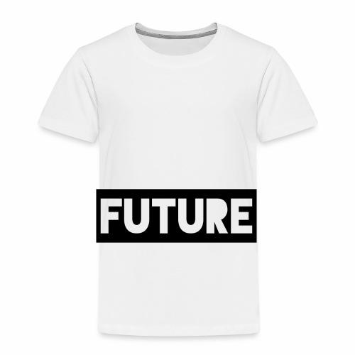 Future Clothing - Text Rectangle (Black) - Kids' Premium T-Shirt