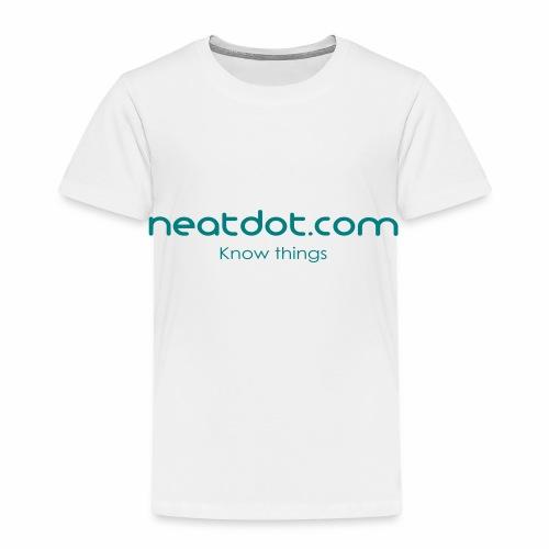 Logo Full slogan - Kids' Premium T-Shirt