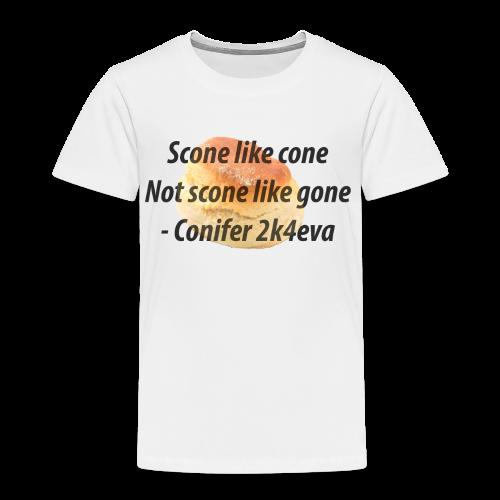 Scone like cone, not gone! - Kids' Premium T-Shirt