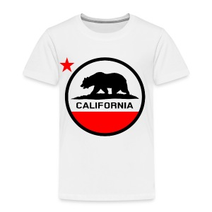 California Circle Flag - Kids' Premium T-Shirt