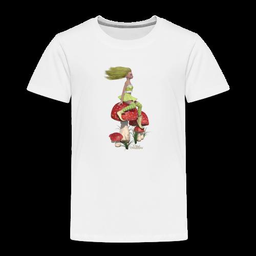 Champignons et lutine - T-shirt Premium Enfant