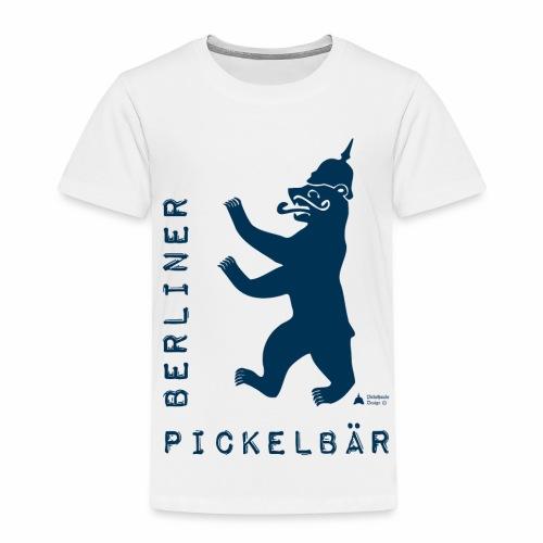 Berliner Pickelbär (Dark Blue) - Kids' Premium T-Shirt