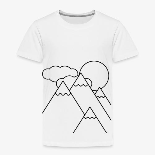 Bergen bij Dag - Kinderen Premium T-shirt
