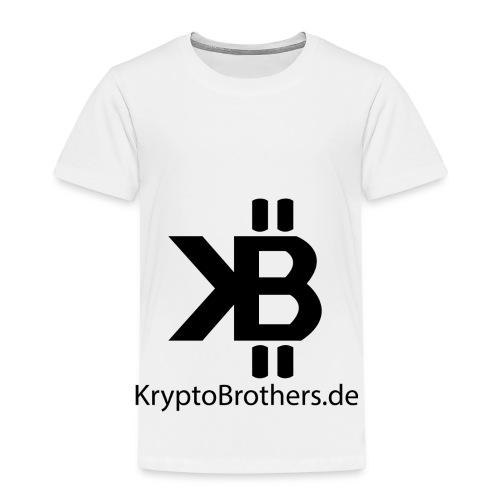 KryptoBrothers Black - Kinder Premium T-Shirt