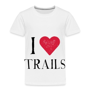 I HEART TRAILS - Kinder Premium T-Shirt