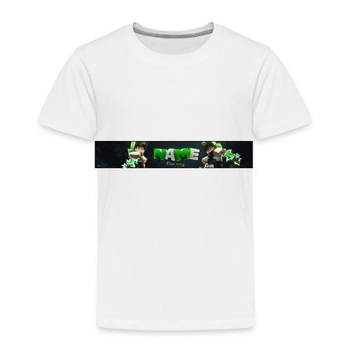 Temblate T-shirt Stellt euch euren Namen vor :D - Kinder Premium T-Shirt