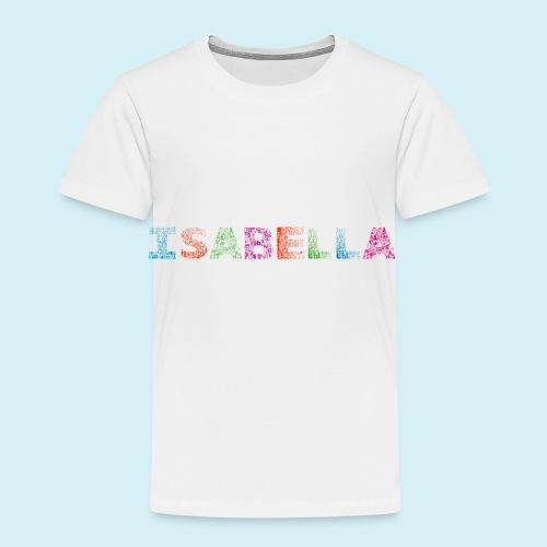 Isabella Letter Name - Kids' Premium T-Shirt