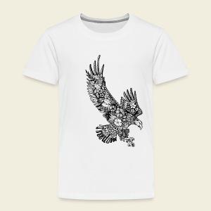 Freedom-Adler - Kinder Premium T-Shirt
