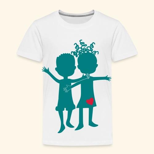 Logo Zweifarbig - Kinder Premium T-Shirt
