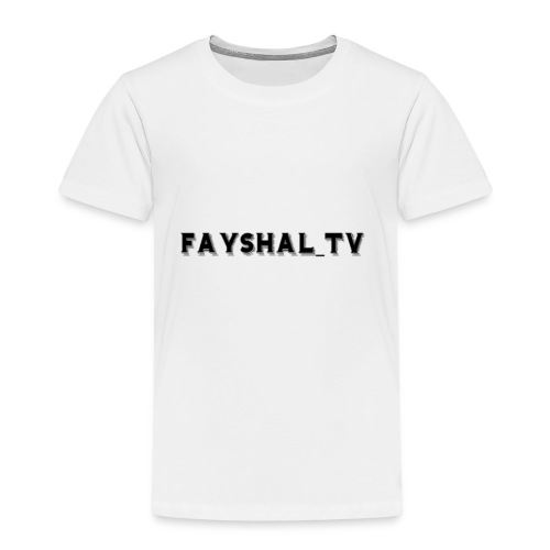 Fayshal_TV HOMINIS EDITION - Kinder Premium T-Shirt