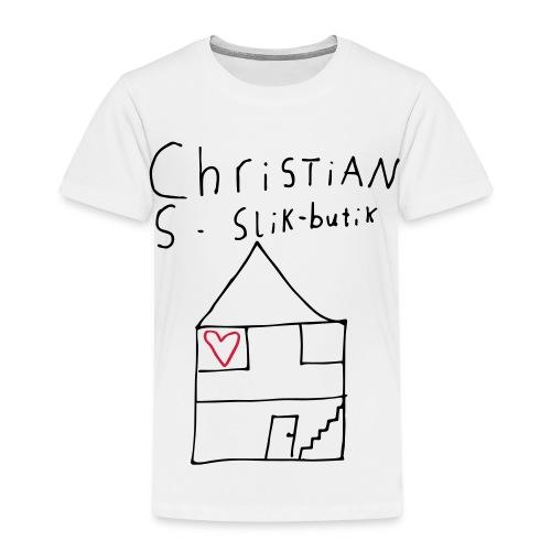 CHRISTIANS SLIKBUTIK ® - Børne premium T-shirt