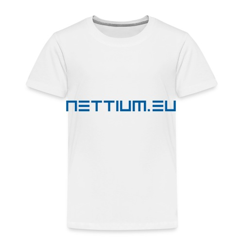 Nettium.eu logo blue - Kids' Premium T-Shirt