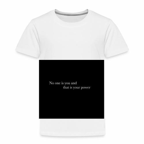 inspirational quote - Kids' Premium T-Shirt