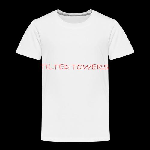 Tilted Towers - Kinder Premium T-Shirt