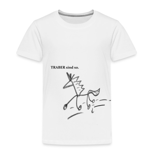 Traber sind so - PremiumEdition - Kinder Premium T-Shirt