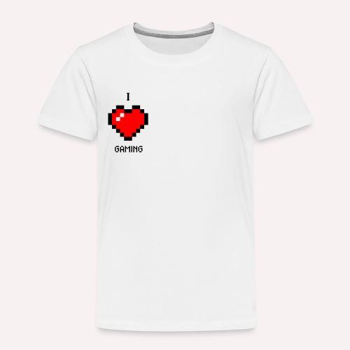 I Love Gaming - Kinder Premium T-Shirt