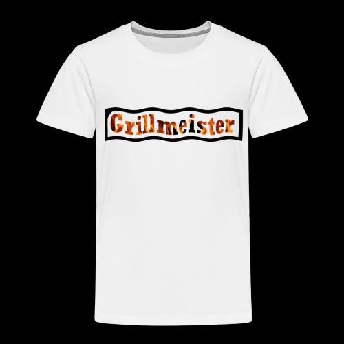 Grillmeister Logo. Für jeden der gerne grillt. - Kinder Premium T-Shirt