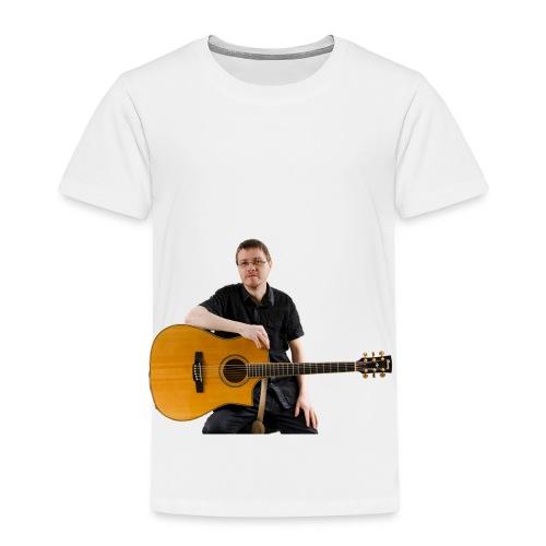 Johan with guitar - Kids' Premium T-Shirt