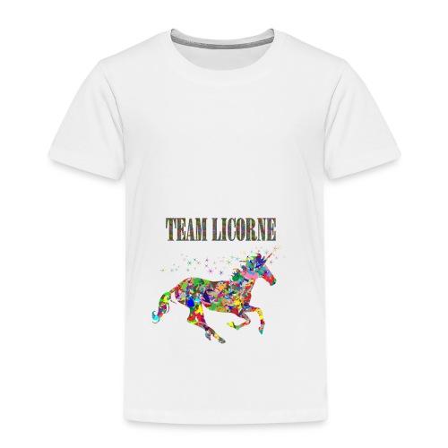 Team Licorne - T-shirt Premium Enfant