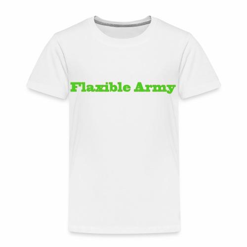 ,,Flaxible Army'' Kollektion - Kinder Premium T-Shirt
