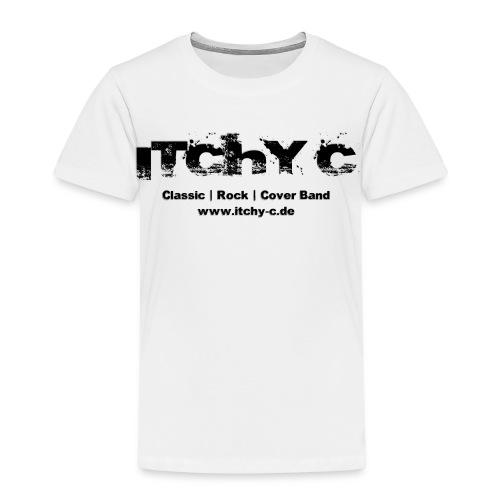 Itchy C Original schwarz - Kinder Premium T-Shirt