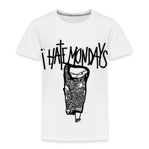 Lundi, je déteste les lundis, je hais les lundis - T-shirt Premium Enfant
