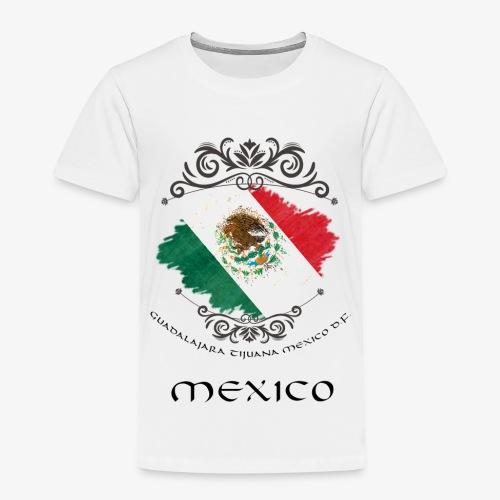 Mexico Vintage Bandera - Kinder Premium T-Shirt