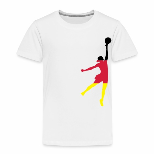 ► Basketball Jump Girl Deutschland • alle Farben - Kinder Premium T-Shirt