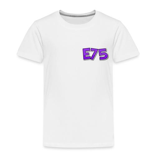 Ethan75HD - E75 Logo - Kids' Premium T-Shirt
