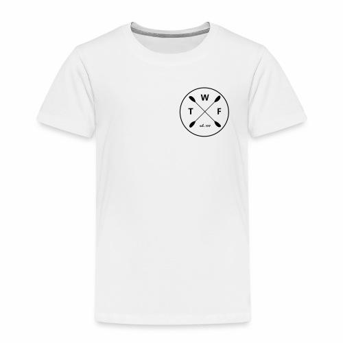 TWF Schwarzes Logo klein - Kinder Premium T-Shirt