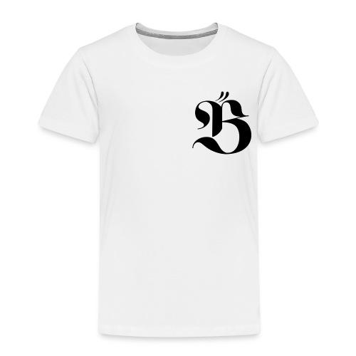 B logo - Premium-T-shirt barn