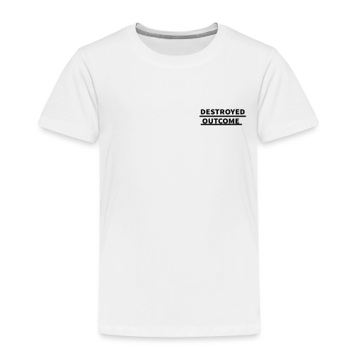 Destroyed outcome's logo of 2018 - Kids' Premium T-Shirt