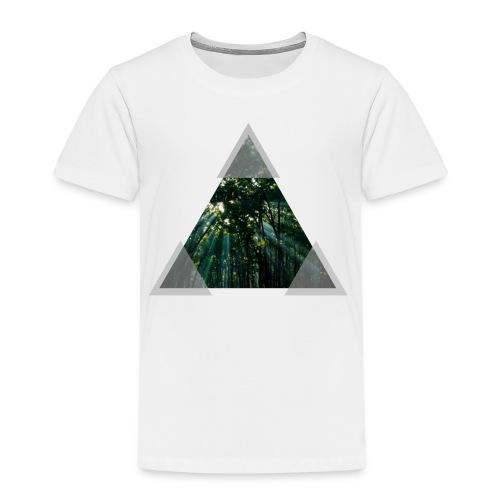 Triangle Forest window - Kids' Premium T-Shirt