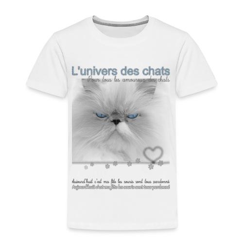 Le fête des chats - T-shirt Premium Enfant