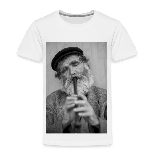 Flötenspieler Logo - Kinder Premium T-Shirt