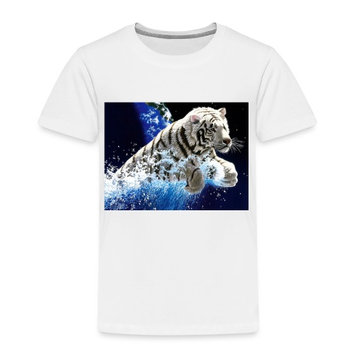 tigern - Børne premium T-shirt