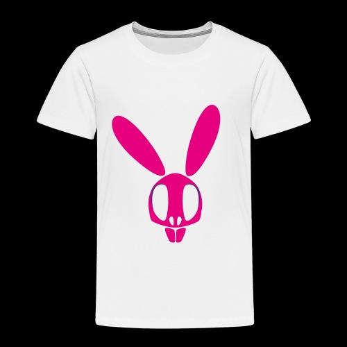 Bunnyskull Pink - Kinder Premium T-Shirt