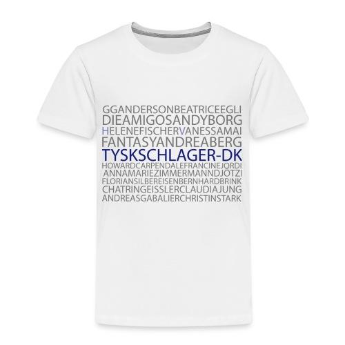 Schlagernavne - Børne premium T-shirt